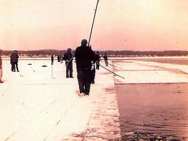 Ice Harvesting on Eagle Lake
